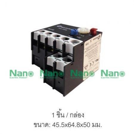โอเวอร์โหลดรีเลย์  SHIHLIN/NANO ( 1 ชิ้น/กล่อง ) TH-P09PP7.5A