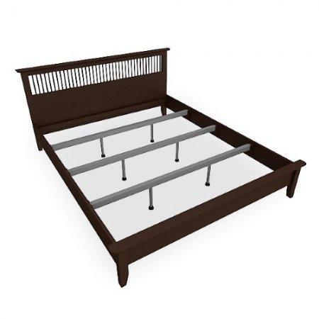 Breeze BED เตียง 6 ฟุต สี Espresso