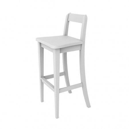 เก้าอี้ Baxic Counter Chair White