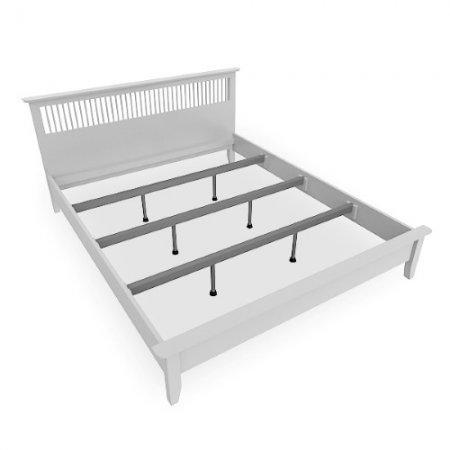 Breeze BED เตียง 6 ฟุต สีขาว White