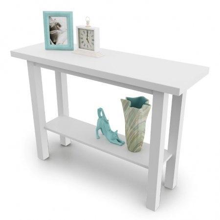 โต๊ะคอนโซล Besame Console Small สี White