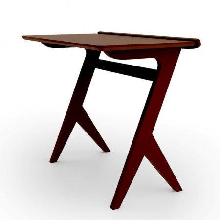 โต๊ะวางโน๊ตบุ๊ค Casual Workstation Espresso Color