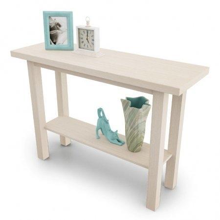 โต๊ะคอนโซล Besame Console Small สี White Wash