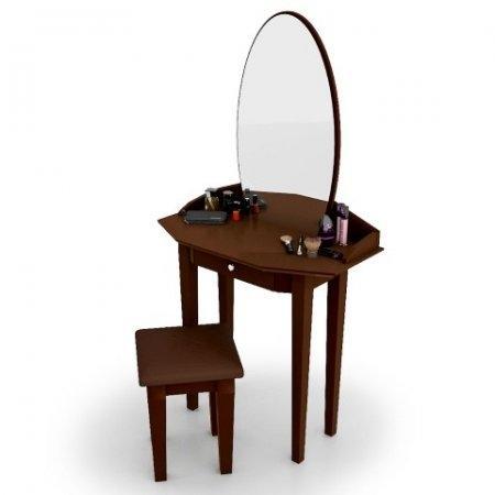 โต๊ะเครื่องแป้ง สตูล Princess Vanity สี Espresso