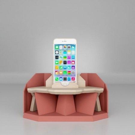 iMelody เครื่องอะคูสติก ขยาย / รับเสียง สี Regalo Pink
