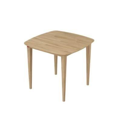 โต๊ะอาหาร Breeze Dining Table Medium สี White Wash
