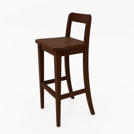 เก้าอี้ Baxic Counter Chair Espresso