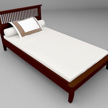Breeze BED เตียง 3.5 ฟุต สี Espresso