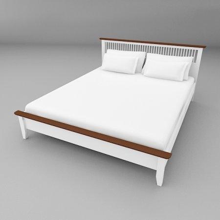 Breeze BED เตียง 5 ฟุต สีทูโทน Twotone