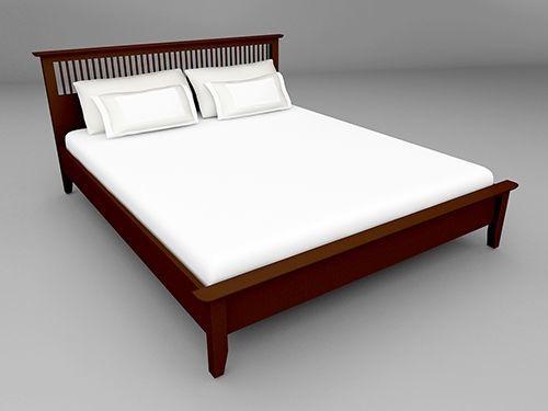 Breeze BED เตียง 5 ฟุต สี Espresso