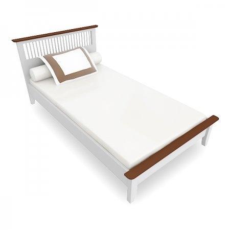 Breeze BED เตียง 3.5 ฟุต สีทูโทน Two Tone