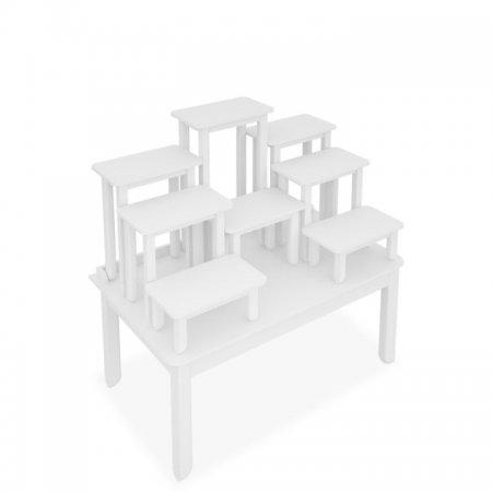โต๊ะหมู่บูชาซีรี่ส์ 9 Buddha Series 9 White