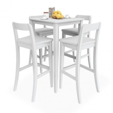 SET Counter Table White 4 ที่นั่ง