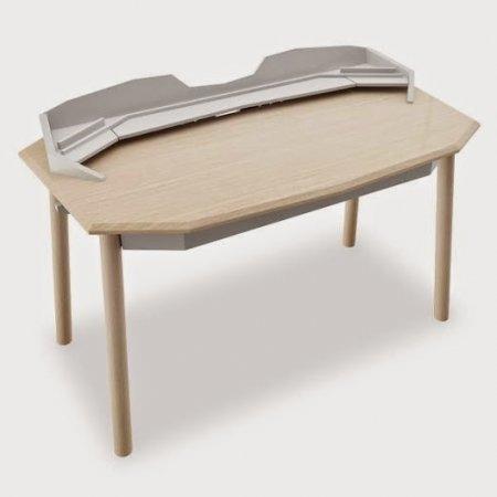 โต๊ะทำงาน Digi Scorpio White Ww Color