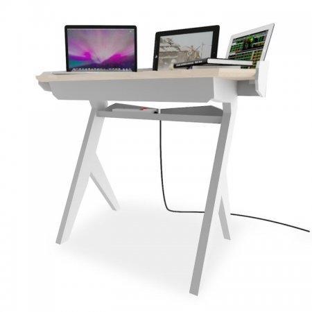 โต๊ะทำงาน Digi Grande White