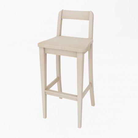 เก้าอี้ Baxic Counter Chair White Wash