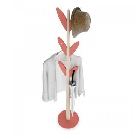 เสาแขวนหมวก เสาแขวนผ้า BeGreen สีแดง Red