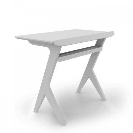 โต๊ะวางโน๊ตบุ๊ค Casual Workstation White Color