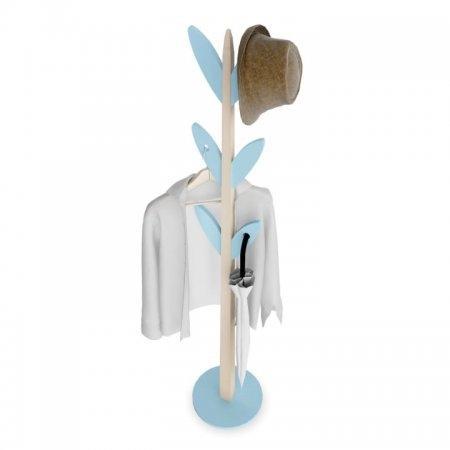 เสาแขวนหมวก เสาแขวนผ้า BeGreen สีฟ้า Blue