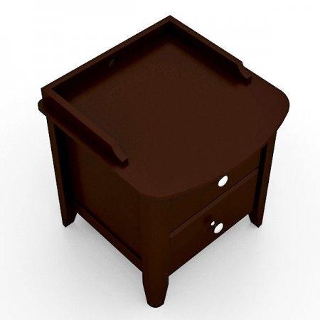 Breeze Night Table ตู้ลิ้นชักข้างเตียง สี Espresso
