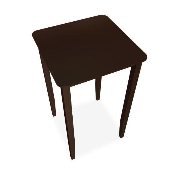 โต๊ะเคาเตอร์บาร์ หน้าท็อปสี่เหลี่ยมจัตุรัส Espresso Color