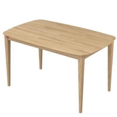 โต๊ะอาหาร Breeze Dining Table Large สี White Wash