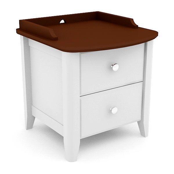 Breeze Night Table ตู้ลิ้นชักข้างเตียง  สี TwoTone