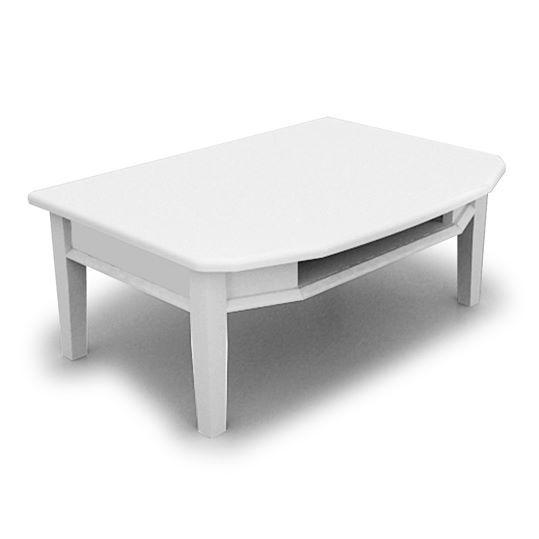 โต๊ะเสริมชุดบูชาพระ Benja Table White