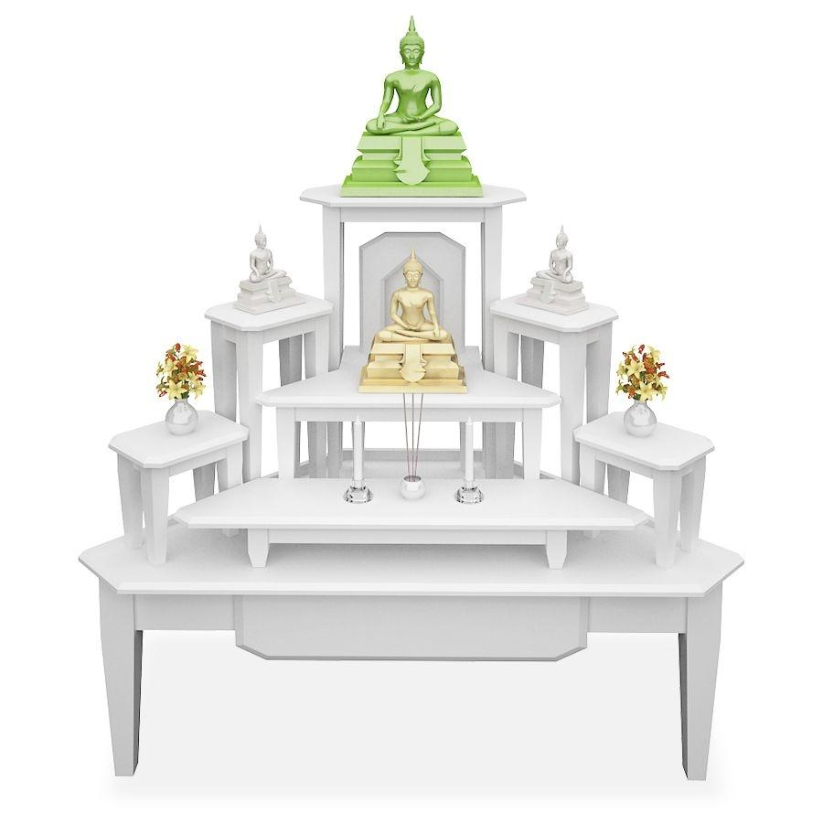 7 buddha bless white Bless home furniture outlet