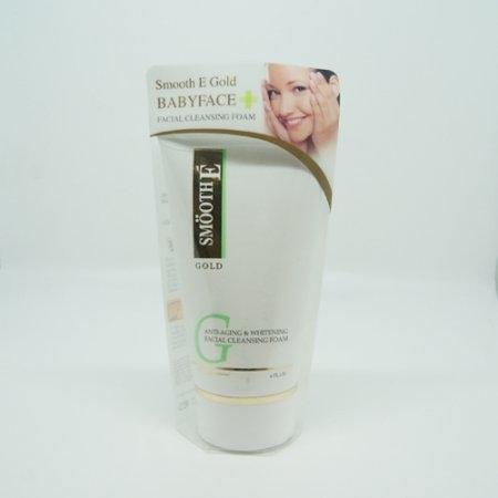 SMOOTH E GOLD BABYFACE FACIAL CLEANSING FOAM 4OZ