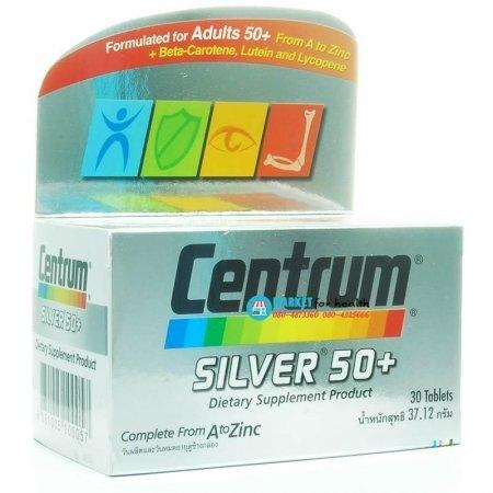 CENTRUM SILVER 50+ DIETARY SUPPLEMENT 30 เม็ด