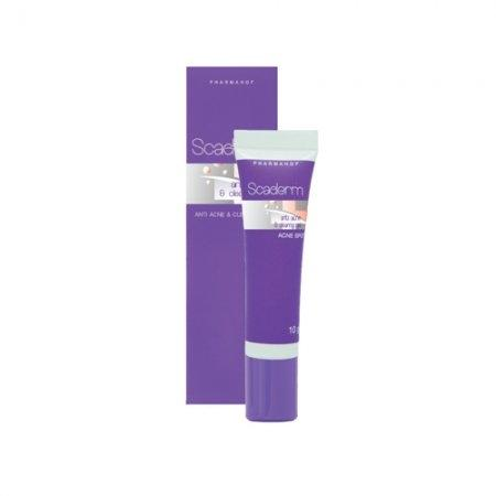 SCADERM ANTI ACNE  GEL 10 GM