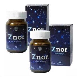 Znorซีนอร์ แก้อาการนอนกรน30 Capsules