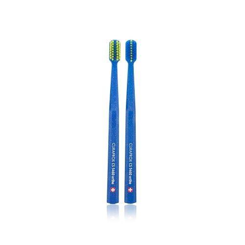 แปรงสีฟันสำหรับคนจัดฟัน CS 5460 Ortho ด้ามสีน้ำเงิน