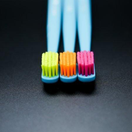 แปรงสีฟันทั่วไป Curaprox CS 5460 ด้ามสีฟ้าเขียว