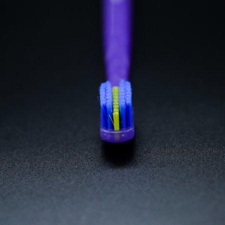 แปรงสีฟันสำหรับคนจัดฟัน CS 5460 Ortho ด้ามสีม่วง