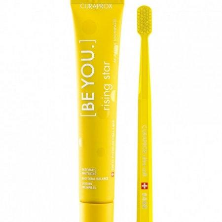 "ยาสีฟัน | Be You ""RISING STAR"" (90 ml.) with Curaprox CS 5460 brush"