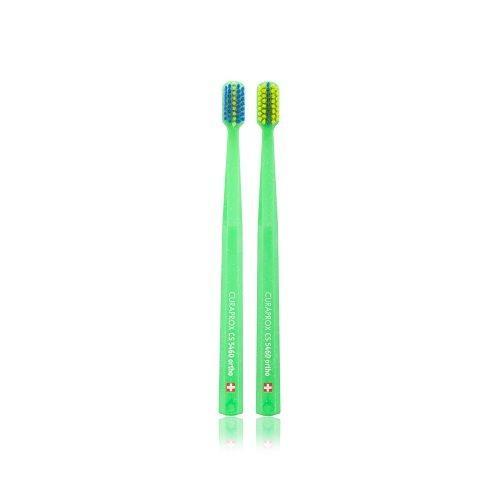 แปรงสีฟันสำหรับคนจัดฟัน CS 5460 Ortho ด้ามสีเขียว
