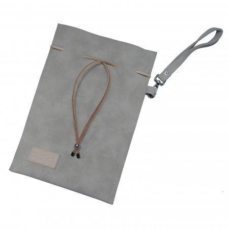 กระเป๋า DragCura หนัง Premium [สีเทา]