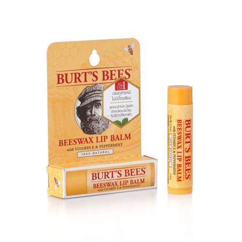 ลิปบาล์ม Burt's Bees | Beeswax Lip Balm Tube