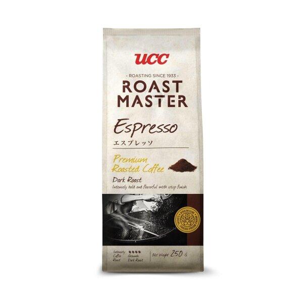 UCC Roast Master Espresso coffee DARK ROAST 250g กาแฟคั่วบด