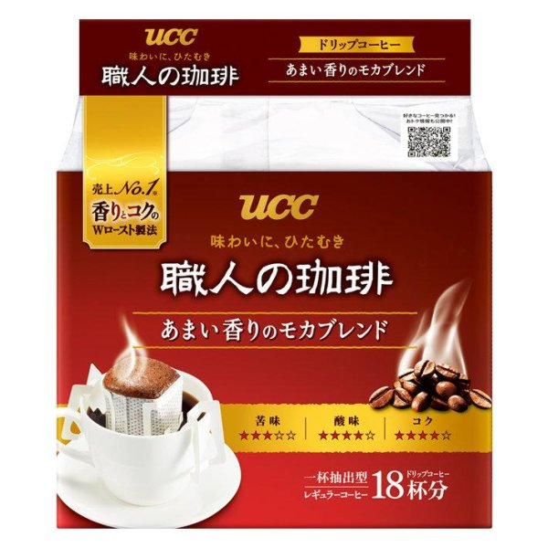 UCC Shokunin Drip Sweet Mocha 126g.(Single Drip Coffee)
