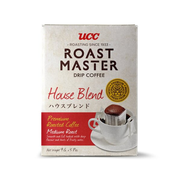UCC Roast Master Medium Roast Drip coffee (9g×5packs).