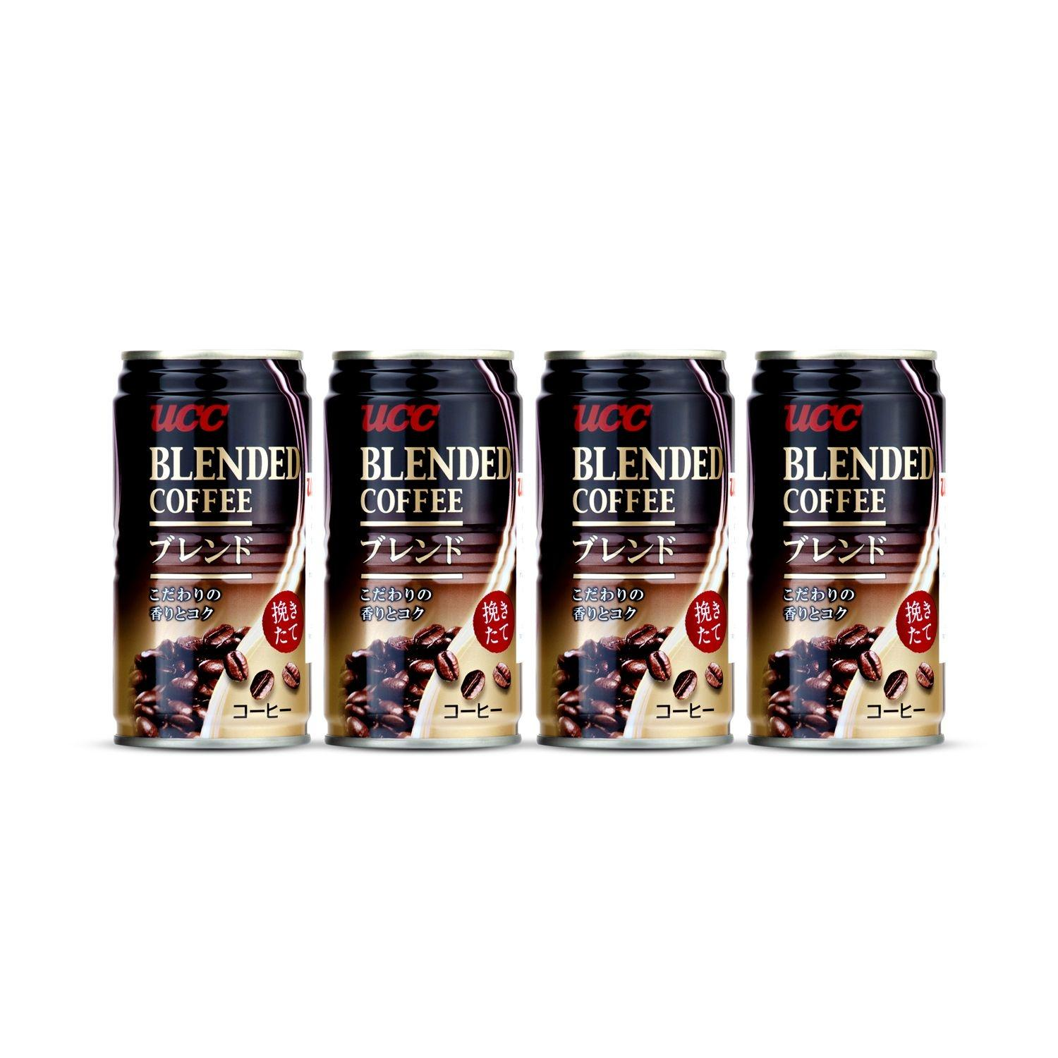 UCC  Blend Coffee Can 185 g.(4 Cans)