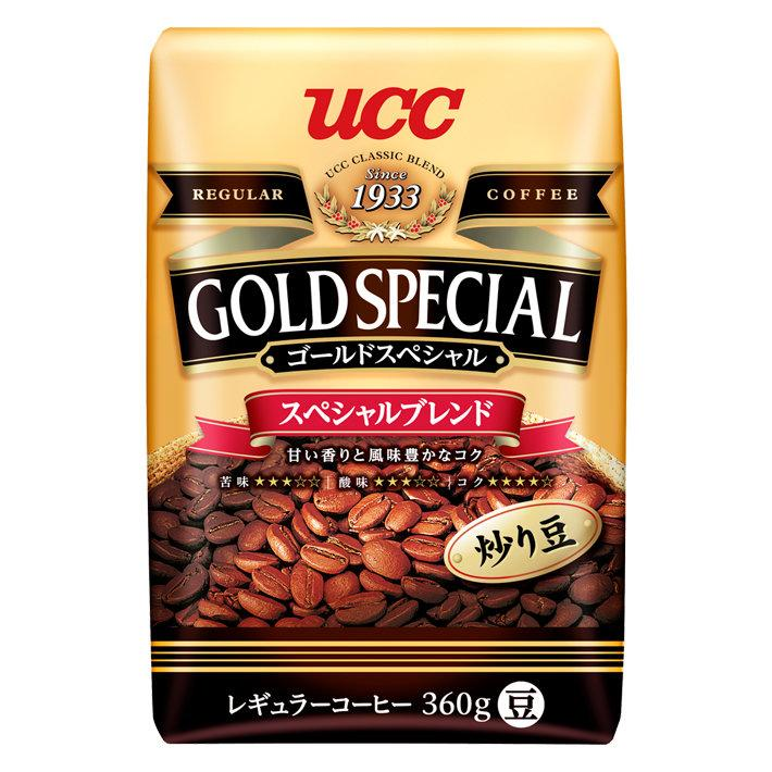 UCC Gold special  Blend Irimame 360g.(Coffee Beans) กาแฟเมล็ด