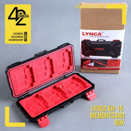 LYNCA Memory Card Box KH-15