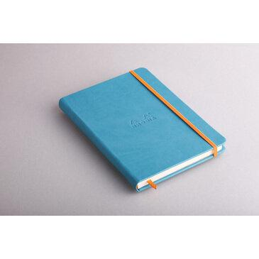 Rhodiarama : Notebook Hardcover - A5 - Turquoise Blue (7470)