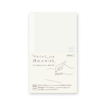 MD Notebook Cotton B6 - Blank