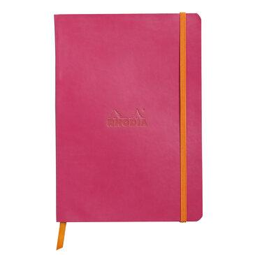 Rhodiarama : Notebook Softcover - A5 - Raspberry (4623)