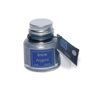 j.Herbin Pigmented Ink - Silver (30ml.)
